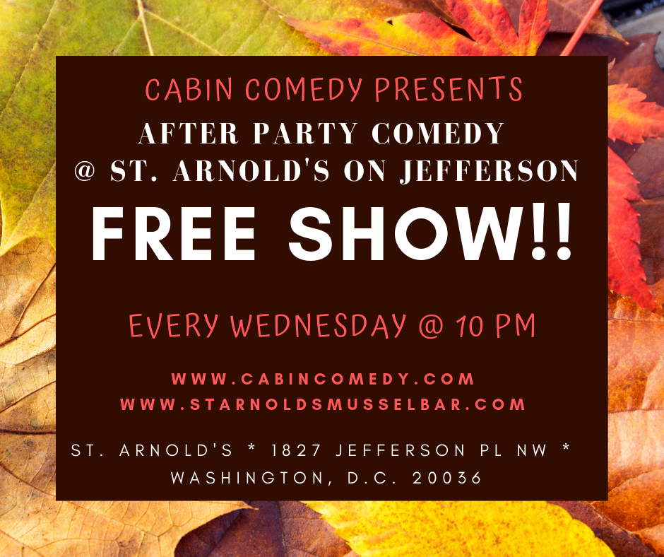 After Party Comedy November 2018
